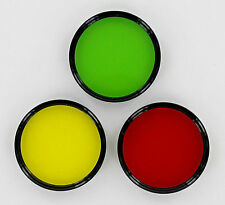 Vivitar 46mm Red,Yellow,&Green Kit (set of Three contrast filters) new-old stock
