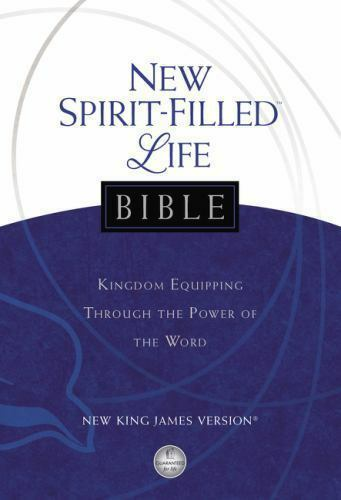 Nkjv New Spirit-Filled Life Bible : Kingdom Equipping Through the Power of  the Word (2013, Hardcover)