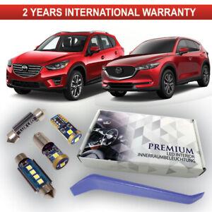 Mazda-CX5-CX-5-Led-Interior-Kit-Premium-8-SMD-bombillas-Blanco-Xenon-sin-errores-ke-kf