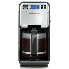 HAMILTON BEACH 12 CUP DIGITAL PROGRAMMABLE COFFEE MAKER 46205 *DISTRESSED PKG