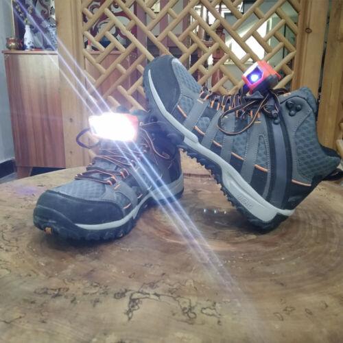 2 PCS Night Running Shoe Lights LED Walking Gear Waterproof Lamp Camping Fishing
