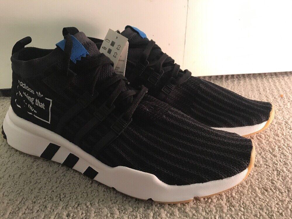 Adidas Originals Men's - Equip Support Mid ADV PK [B37413] (Black White) Sz 12