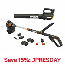 WORX WG930 20V Powershare 3-in-1 GT Revolution Trimmer & Turbine Blower Kit