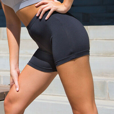 FITINCLINE Women/'s Sports Shorts NO Camel-toe Buttery Soft Gym Fitness Training