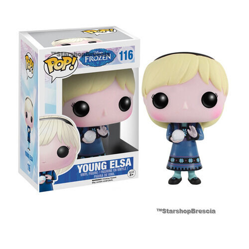 Young Elsa Vinyl Figure Funko Disney #116 Frozen POP
