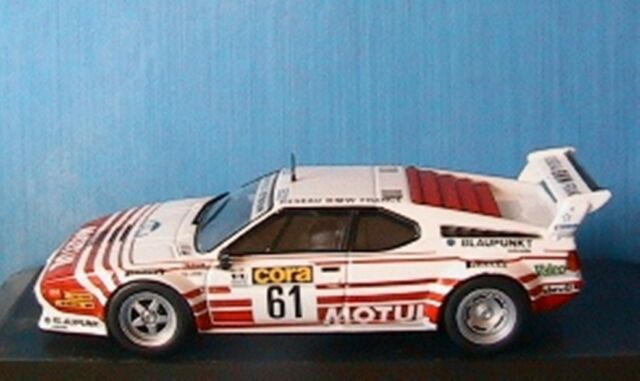 BEGUIN ALTAYA 1:43 1er BMW M1 RALLYE DE LORRAINE 1984 B