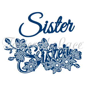 Tattered Lace /'Sister/' 3D Decoupage Craft Cutting Die FREE UK P/&P 477268