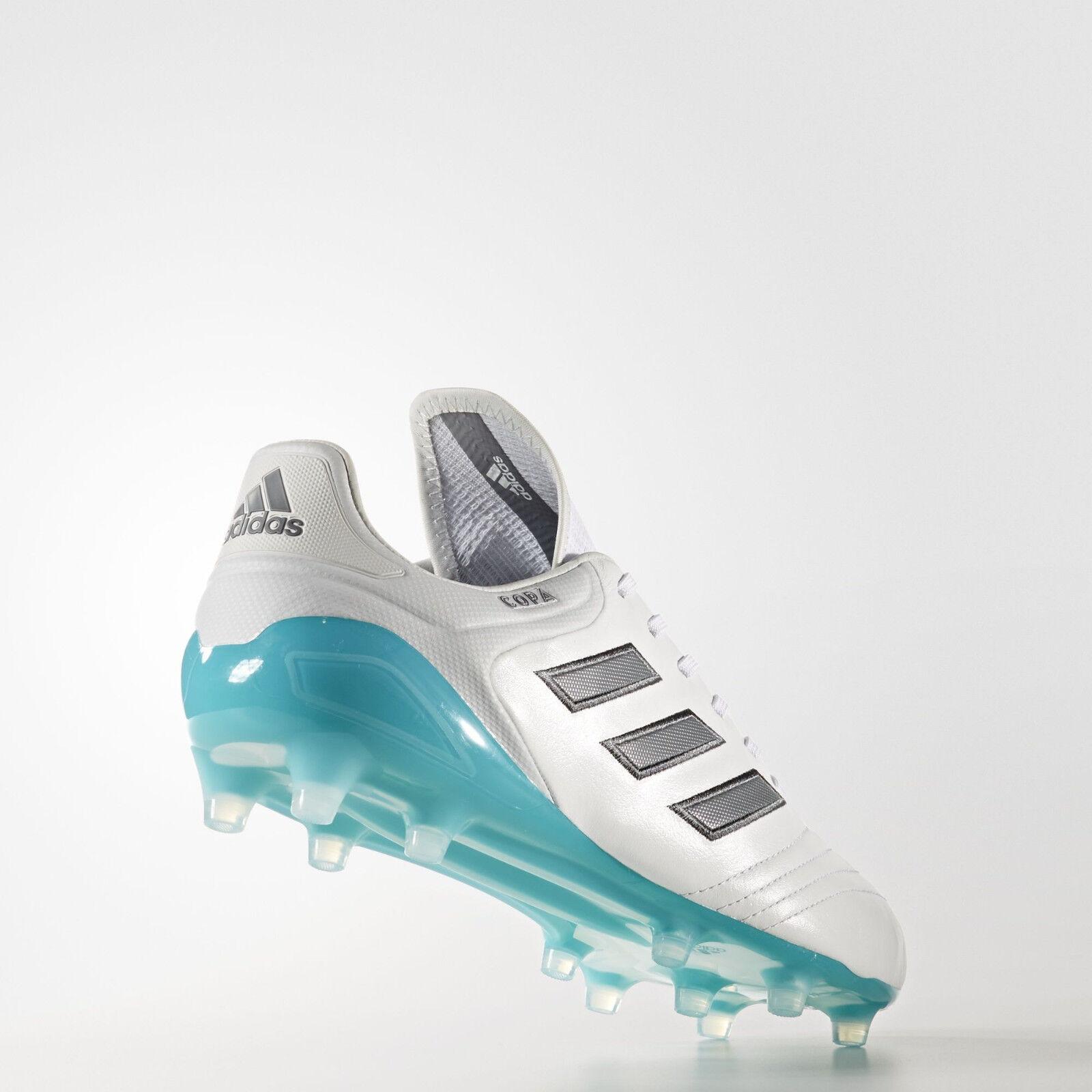online retailer bc72e ada4e ADIDAS Copa 17.1 FG Bianco Grigio da Uomo in pelle scarpe da calcio prezzo  consigliato ...