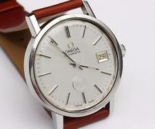 1970s vintage OMEGA AUTOMATIC Stainless Steel MENS WRISTWATCH - EXCELLENT COND.