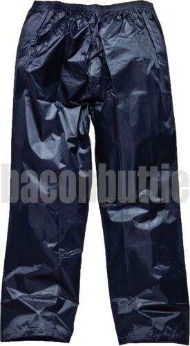 Mens Ladies Waterproof Rain Fishing Storm Motorcycle Over Trousers Pants