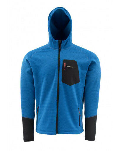 Simms Axis Hoody  Tidal blu NEW  Dimensione 2XL  CLOSEOUT