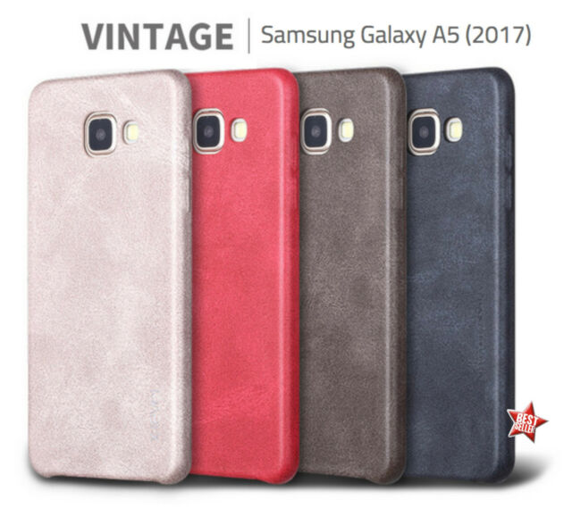 TOP QUALITY COVER SLIM CUSTODIA IN PELLE SOFT TOUCH per SAMSUNG GALAXY A5 2017