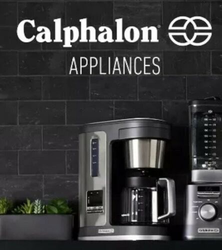 CALPHALON SPECIAL BREW 10 CUP COFFEE MAKER SILVER STAINLESS STEEL BVCLDCG1 NEW