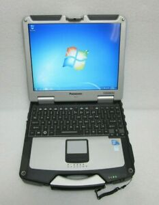 Fully-rugged-Panasonic-Toughbook-CF-31-i5-2-4G-Backlit-KB-Win7-Touch-Grade-B