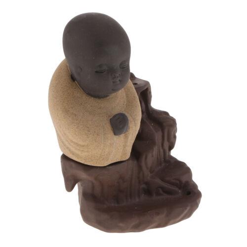 Keramik Buddha Kegel Stick Halter Rückfluss Räuchergefäß Buddhist Censer