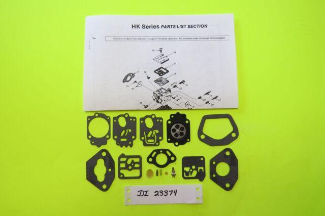 McCulloch PM610 PM650 Tillotson HK19 Carburetor kit RK-32HK Carb Kit New