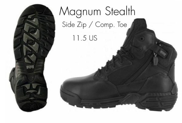 15a6f19794b Details about Magnum Stealth Force 6.0 SZ Side Zip Composite