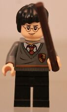 100/% LEGO Harry Potter Minifigure with Wand 2-sided head 71247 Dimensions NEW