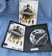 """""""COMPANY OF HEROES"""" w/Case, Sleeve & Manual, XP/VISTA, WW2 PC Game"""