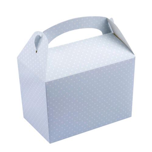 """Lunch Box 15 cm blau /""""Vintage Rose/"""" Schachteln Geschenkbox Kuchenbox"""