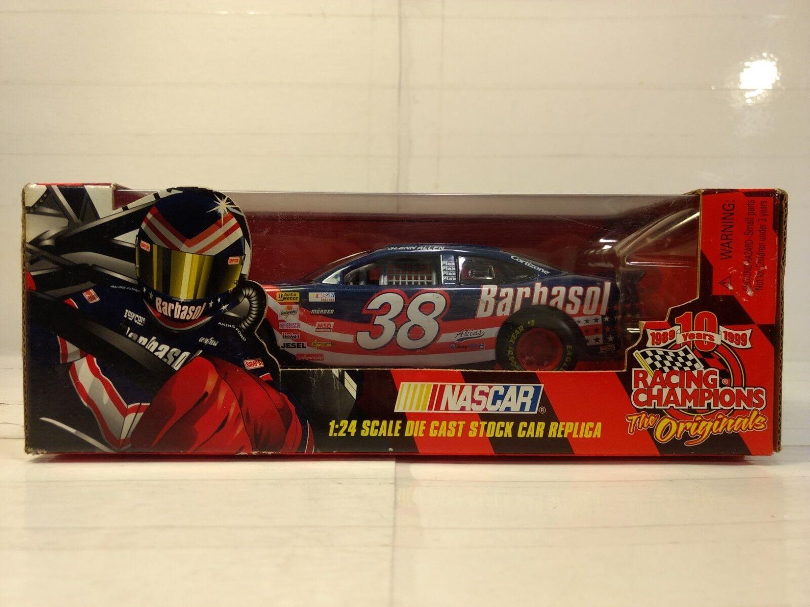 Racing Champions Glenn Inbus Barbasol Ford 1 24 Maßstab