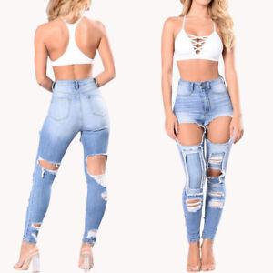 valor fabuloso navegar por las últimas colecciones última colección Detalles acerca de Pantalón cintura alta pantalones Jeans ropa de mujer  colombianos levanta cola- mostrar título original
