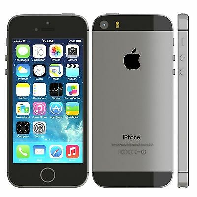 Brand New Apple iPhone 5s - 16GB - Space Gray (Factory Unlocked) Smartphone