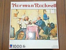 Norman Rockwell 1000 Piece Puzzle THE LOVE SONG Complete EUC