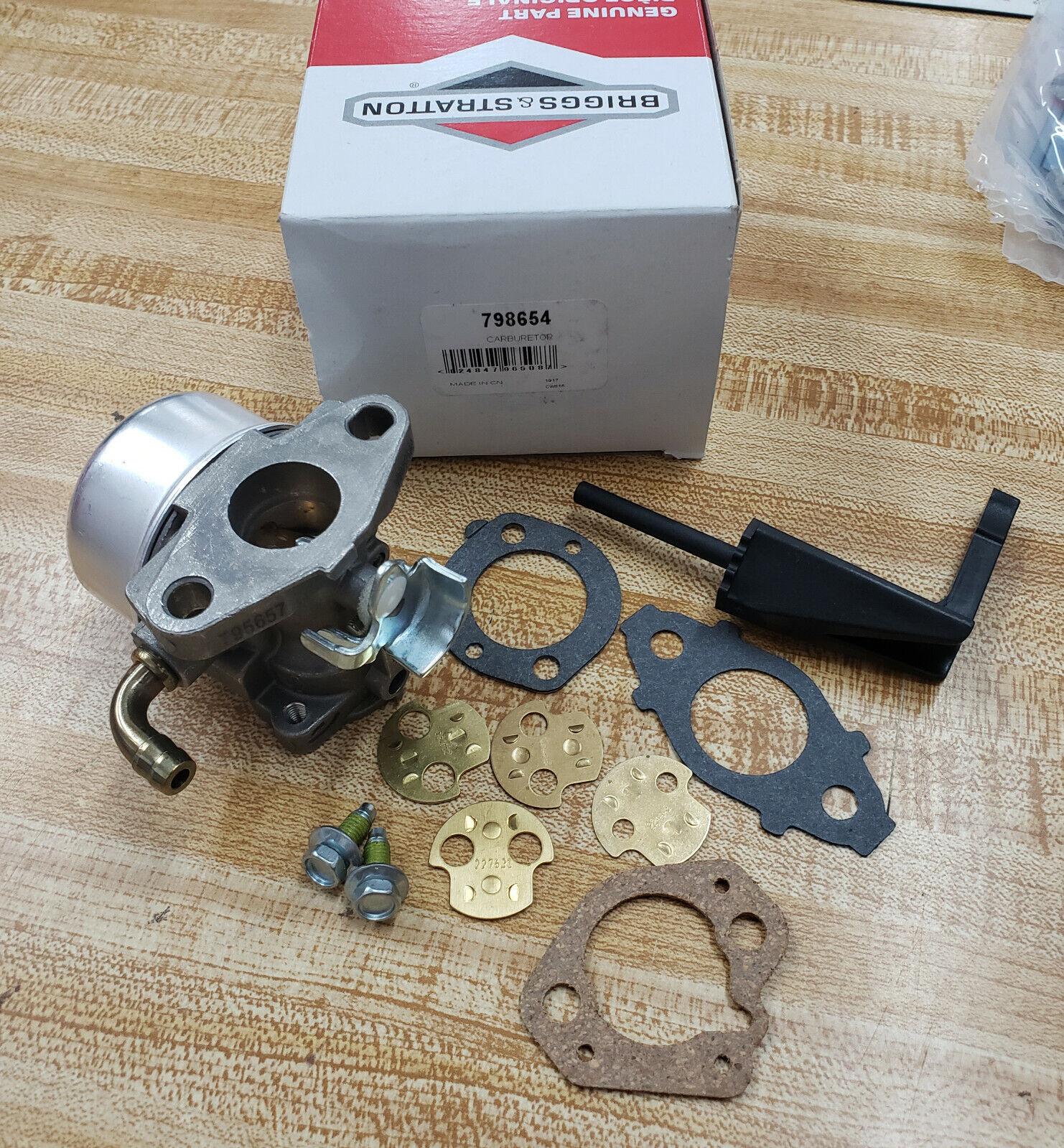 Cocheburador De Repuestos Originales Stratton Briggs and 798654 Cocheburador OEM