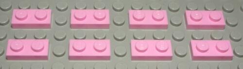 Lego Platte 1x2 Pink 8 Stück 17