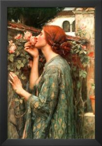 John William Waterhouse My Sweet Rose Art Print Poster Framed Poster Print