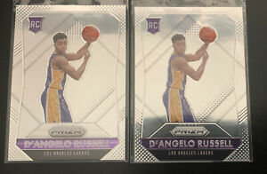 2-D'ANGELO RUSSELL 2015/16 Panini Prizm Base RC Rookie Card's #322