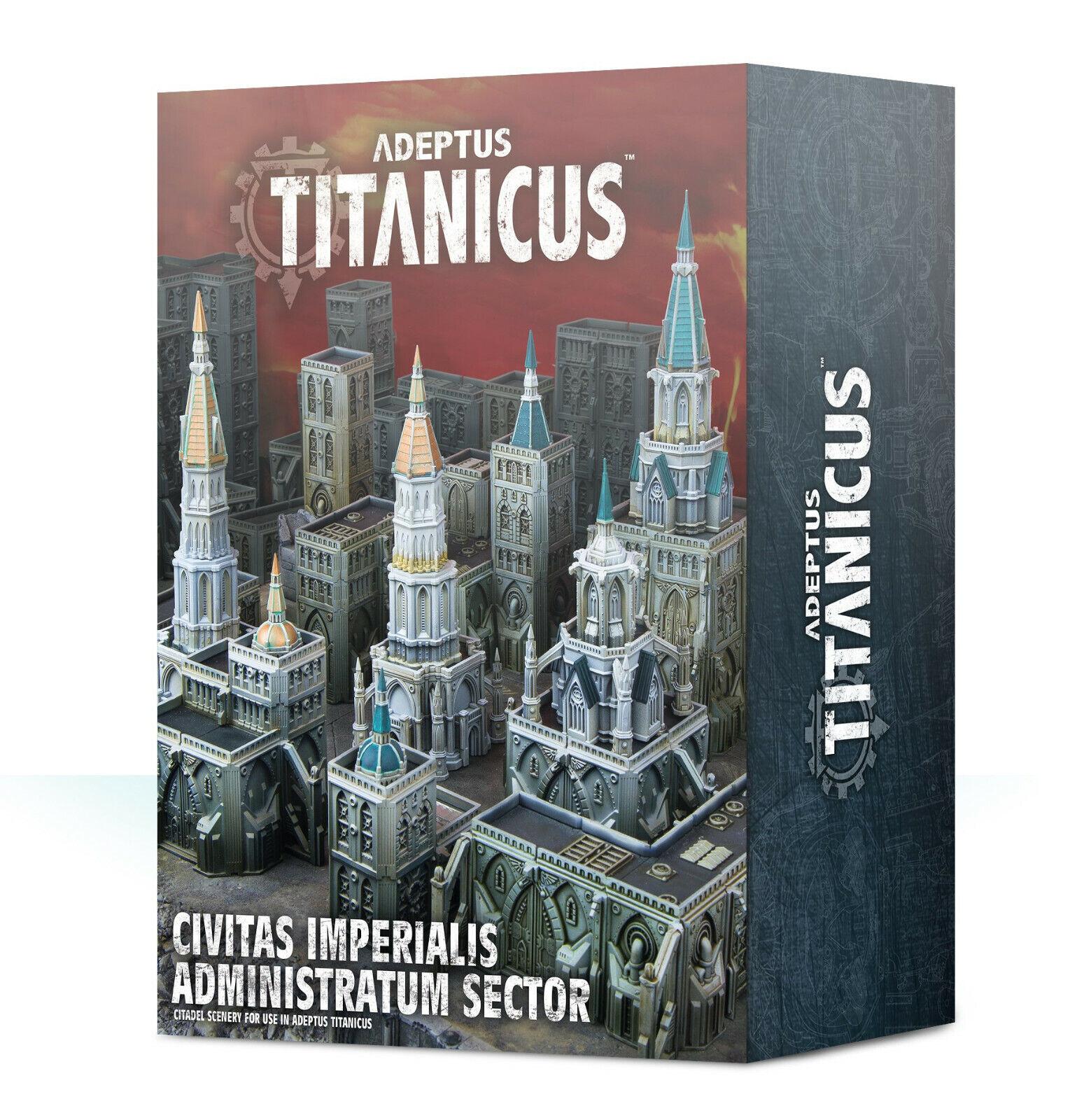 Civitas Imperialis Administratum Sector- Adeptus Titanicus -400-28-Warhammer 40k