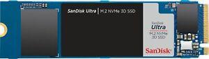 SanDisk - Ultra 1TB PCIe Gen 3 x4 NVMe Internal Solid State Drive