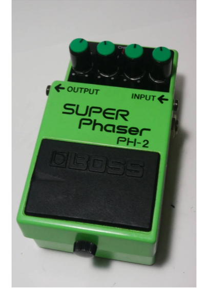Used Guitar Effect Pedal BOSS Super Phaser PH-2 Made in Japan