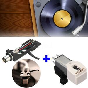 LP-Turntable-Nadel-Stylus-Tonarm-Headshell-Ersatz-fuer-Audio-Technica-Technics