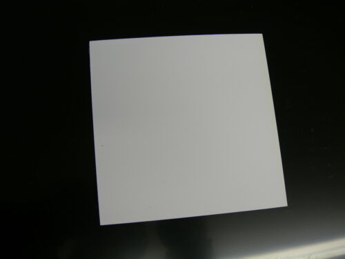 "WHITE POLYSTYRENE PLASTIC SHEET .030/""x 12/"" x 23-11//16/"" LGHT DIFFUSING LOT OF 10"