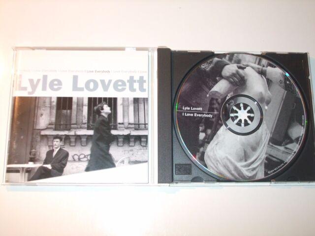 Lyle Lovett - I Love Everybody (CD) 18 Tracks - Nr Mint - Fast Postage