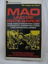 Hans Dollinger, Mao und die Rote Garde, 1968, Wilhelm Heyne Verlag