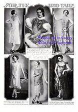 Mode für Tanz und Tee XL 1925 Seite Kleider Mode 20er Jahre Hruby Cartellieri