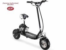 49 cc 3-Speed Gas Powered High Performance MotoTec Black Scooter Ride On Kids