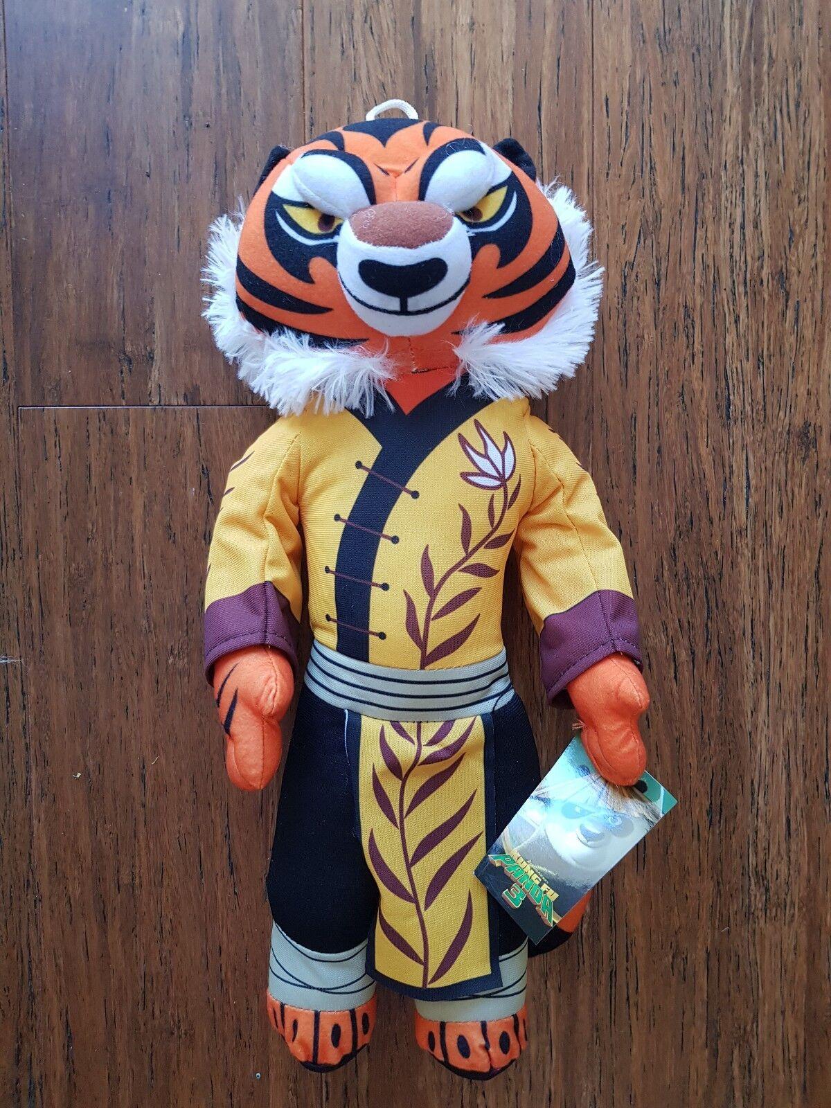 Dreamworld Kung Fu Panda 3 Tigress Plush Soft Stuffed Doll Toy 15'' 40 cm