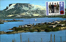 Curacao Karibik Caribbean See Spaanse Water near Willemstadt Postcard ~1970