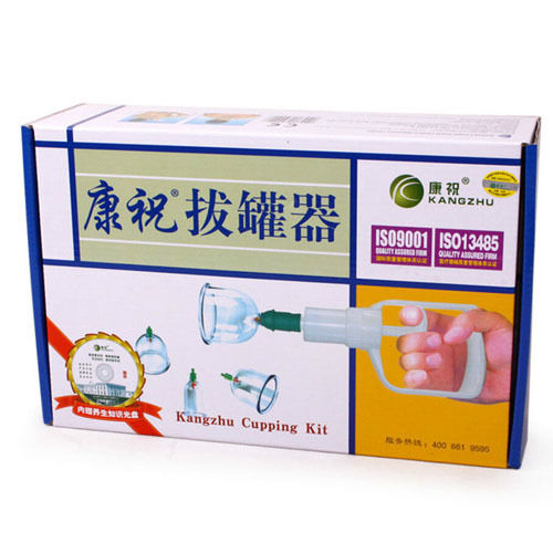Vacuum Suction Kangzhu Chinese Body Cupping Kit 12 Cups Massage Cupping Set (