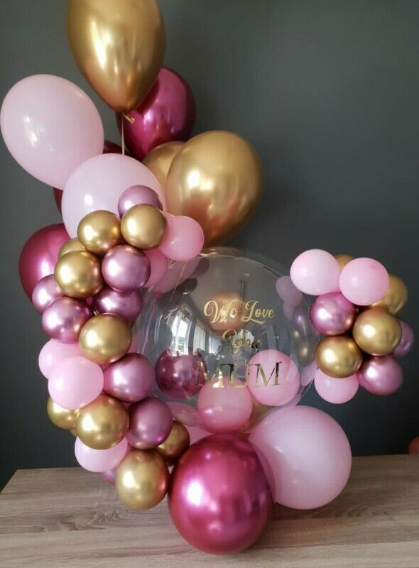 Helium Balloons, Balloon garlands, arches, arrangements, bouquets, Room Surprises and Party Things
