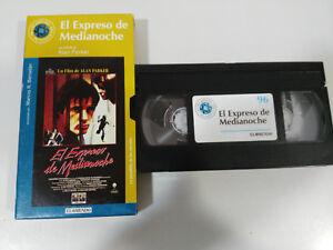 DER-EXPRESS-VON-MITTERNACHT-ALAN-PARKER-GUBER-VHS-PACKUNG-KARTON-SPANISCH