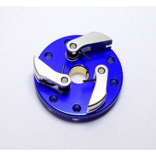 Hot Racing TRX100S306 Traxxas 2.5 3.3 Blue Aluminum Flywheel 3-Shoe Clutch Kit