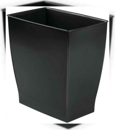 InterDesign Spa Rectangular Trash Can Waste Basket Garbage Can for...