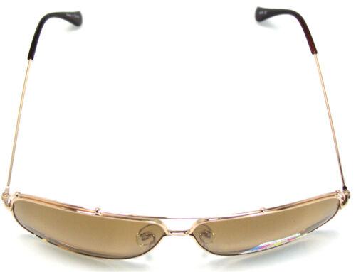Aviator design Sunglasses Gold//Brown Polarized