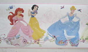Disney Cinderella Sleeping Beauty Wallpaper Border 9 34878228204 Ebay